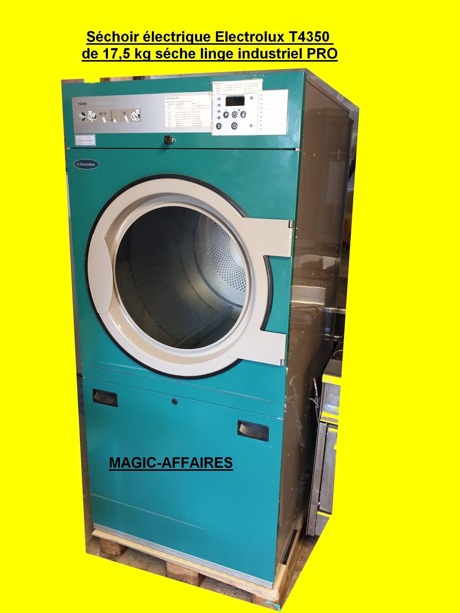 Sechoir Electrique Electrolux T4350 De 17 5 Kg Seche Linge Industriel Pro Materiel Professionnel Machine Professionnel Sechoir Electrique Sechoir Seche Linge