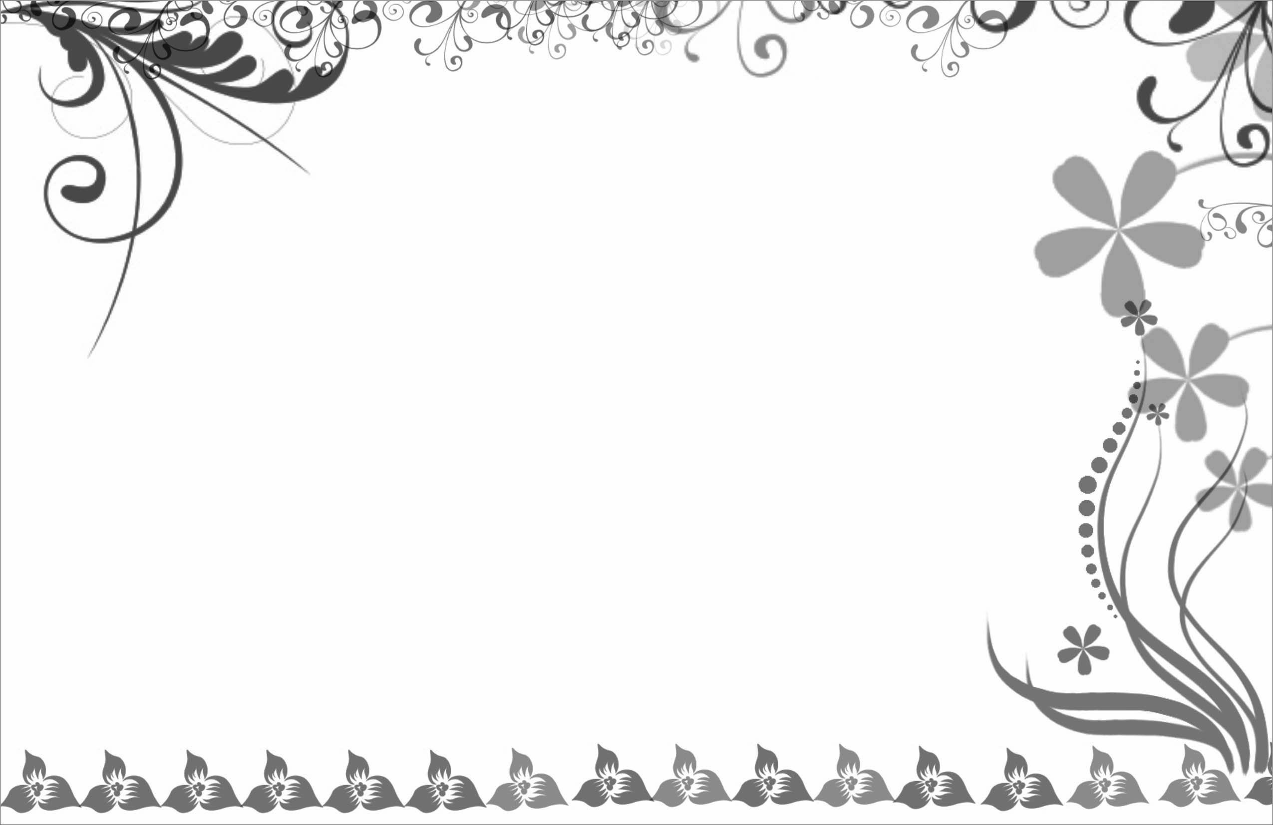 Wedding Card Border Design Vector Png Png Collections At Sccpre