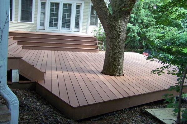 Composite Outdoor Porch flooring | backyard design | Pinterest | Wpc ...