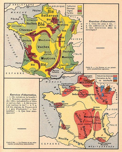 Carte F4 Print Pictures Map France