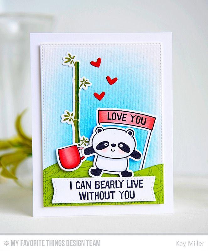 Summer Coffee Lovers Bloghop Panda Card Card Making Art Handmade Craft Cards