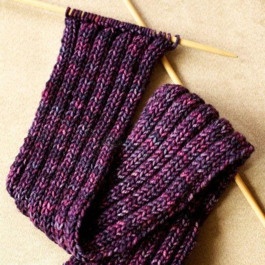 super qualità piuttosto fico noi sporchi Sciarpa ai ferri - Un modello semplicissimo di sciarpa di lana ai ...