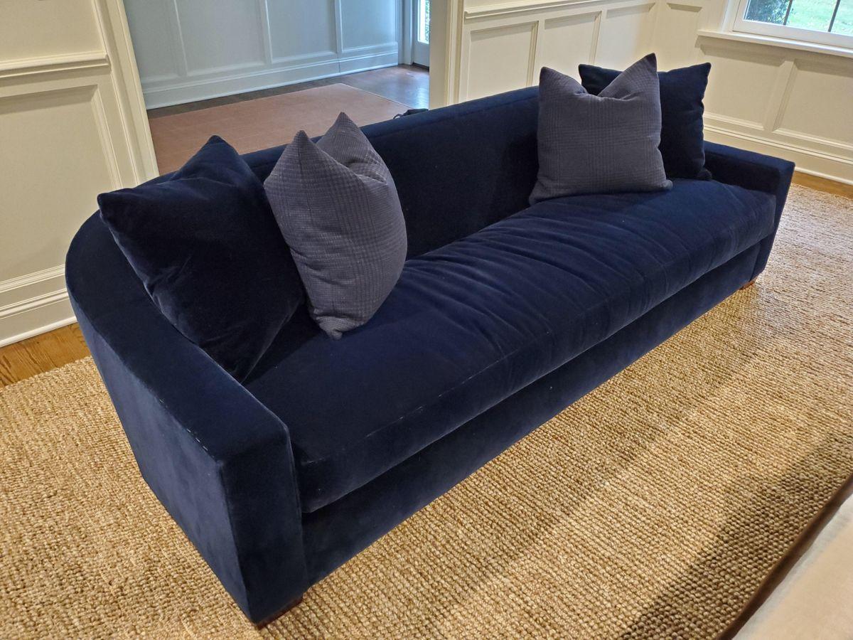 Ralph Lauren Tremont Sofa And Pillows Chairish Sofa Sofa