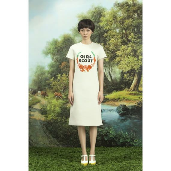 Chictopia, Liu Qing Yang FW13   Textile-based fashion designer, Beijing