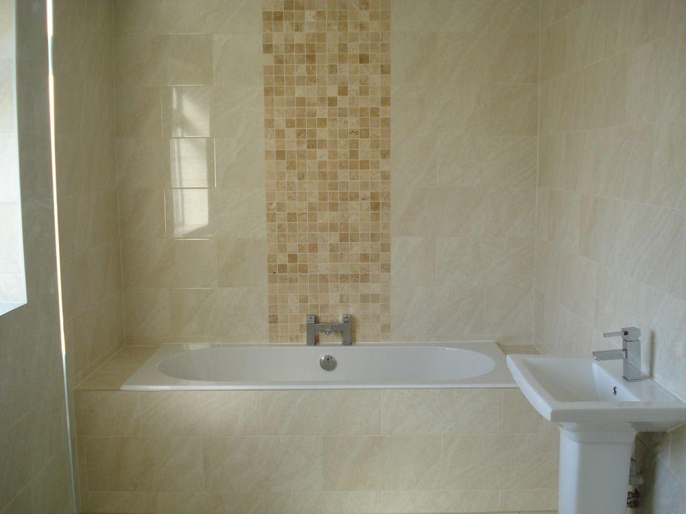 Tile effect bathroom wall panels Show john Pinterest Bathroom