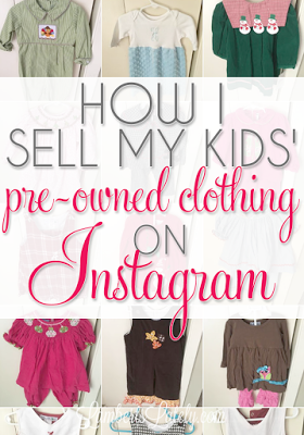 How I Successfully Sell Pre Owned Kids Clothing On Instagram
