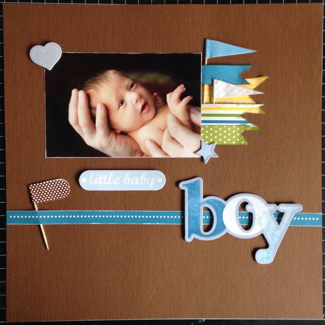 Paper used: @pebblesinc  - Family Ties Pebbles - Toothpick Flags Me & My Big Ideas - Mambi Sticks stickers  Jaxen - January 5, 2013