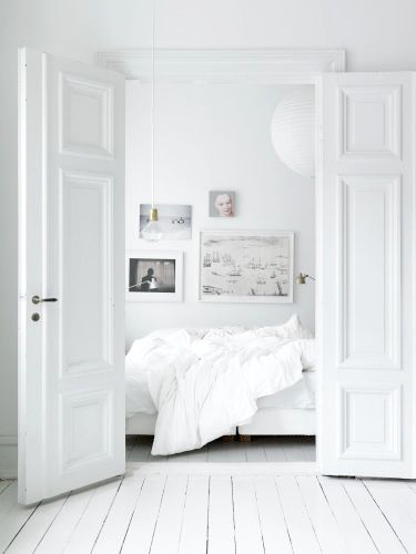 All White Interiors 12 ways to detox your bedroom with all-white everything | interior