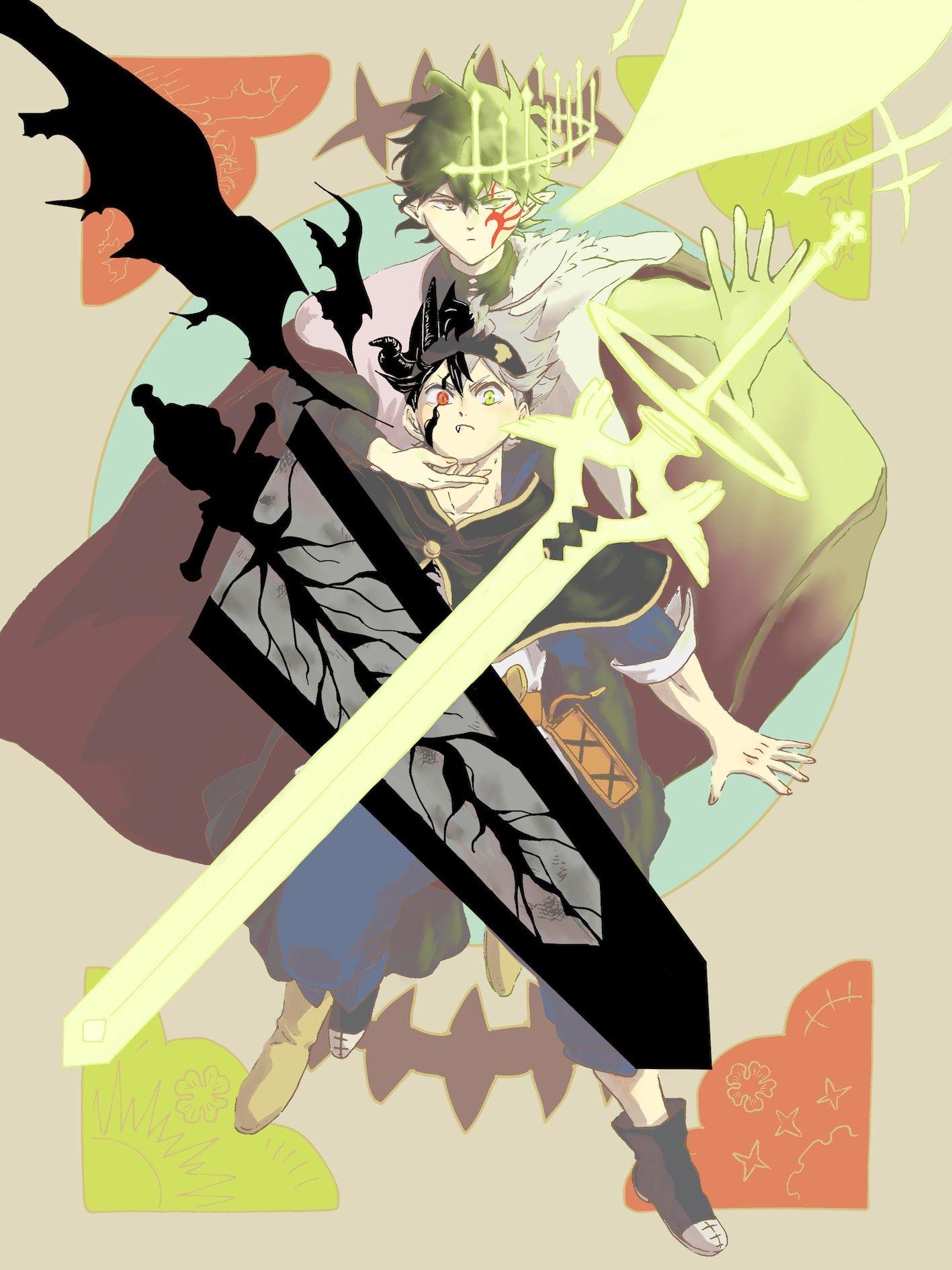 pin by ฑ ฆ มพร คงม ภ กด on black clover in 2020 black clover anime anime wallpaper black clover manga pinterest