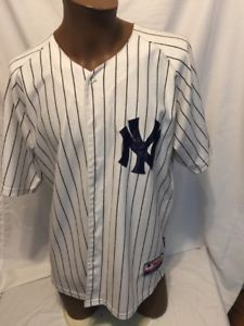 best service 1ea2d 1d914 MLB New York Yankees Majestic Starlin Castro #14 Jersey size ...