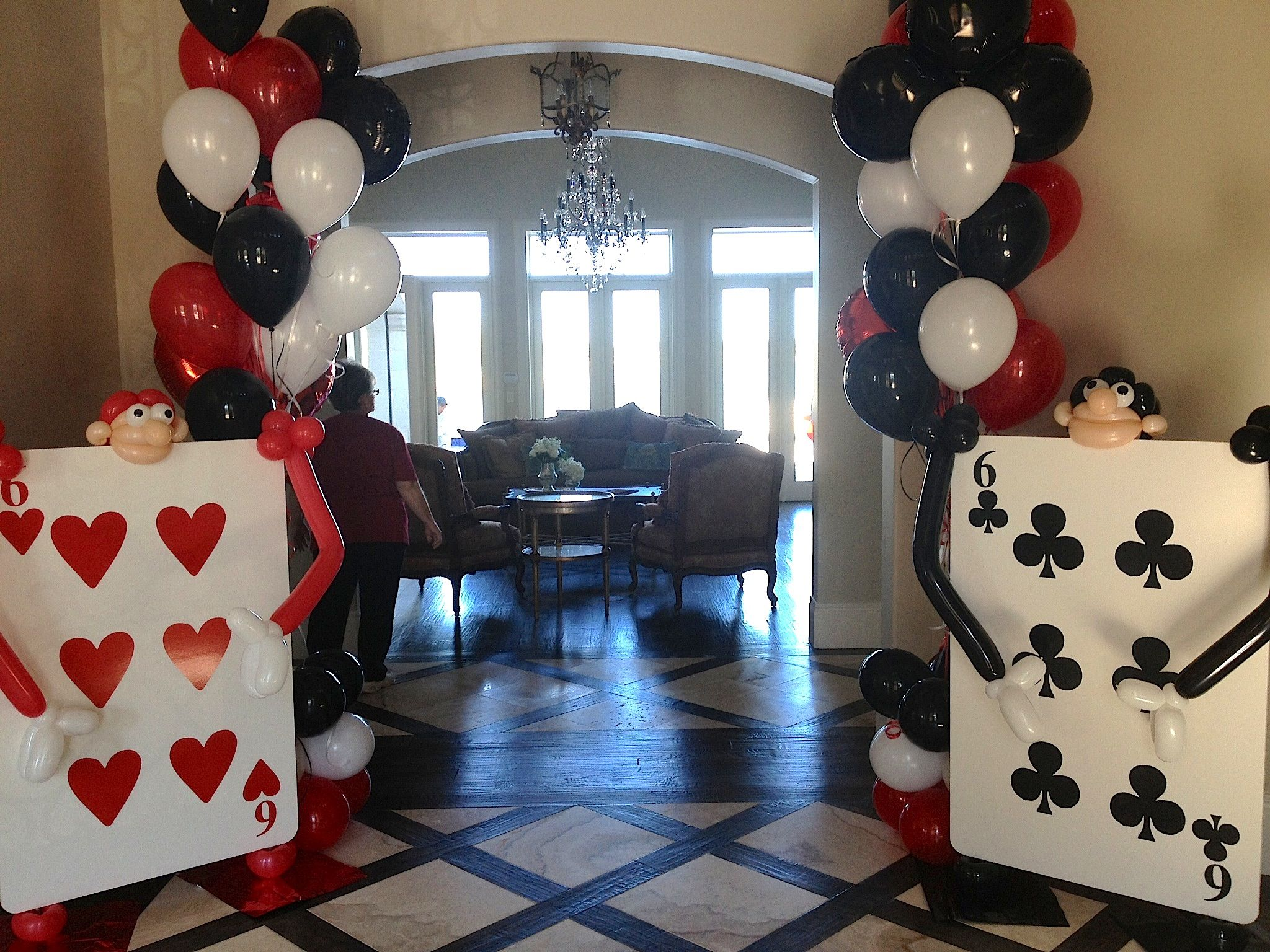 Alice in Wonderland Theme Party. These playing card soldiers can ...