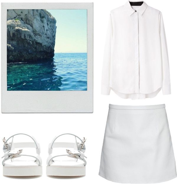 """""""Blanche"""" by gatetoheaven ❤ liked on Polyvore"""