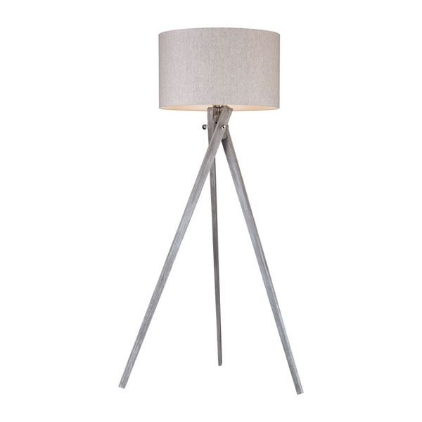 Dimond Lighting Whistler 1 Light Floor Lamp In Black Ash D2961 Black Floor Lamp Tripod Floor Lamps Modern Tripod Floor Lamp