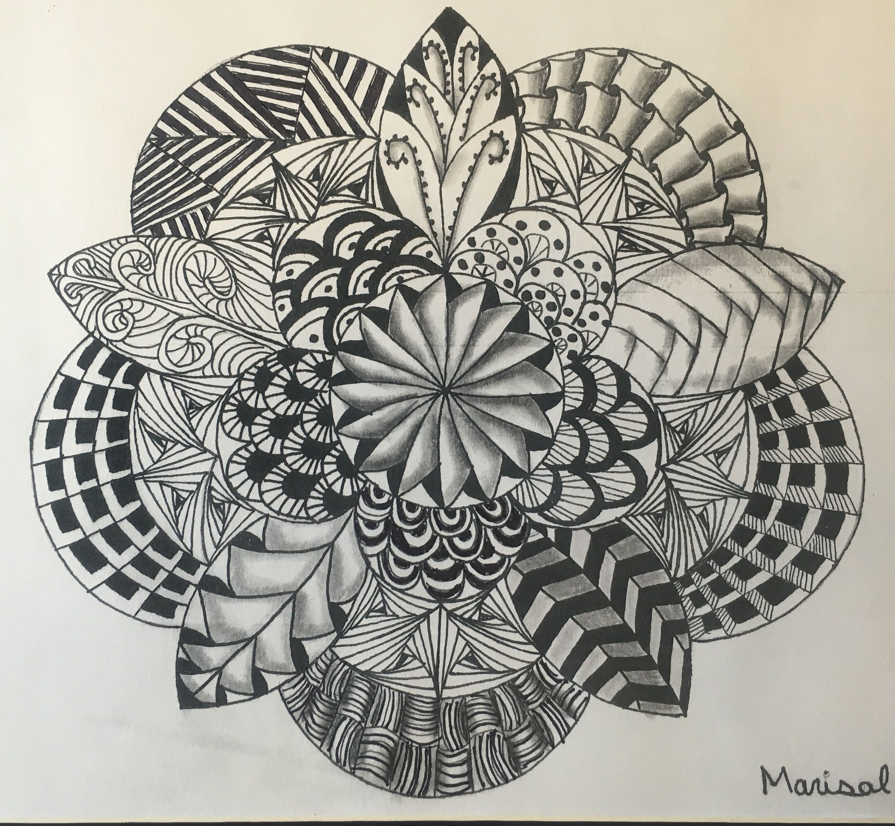 Zentangle Lesson Plan Mesa Vista High School Ojo