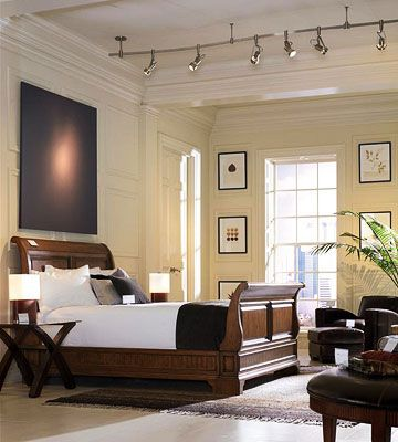 Decorating lessons best lighting for any room in 2019 - Track lighting ideas for bedroom ...
