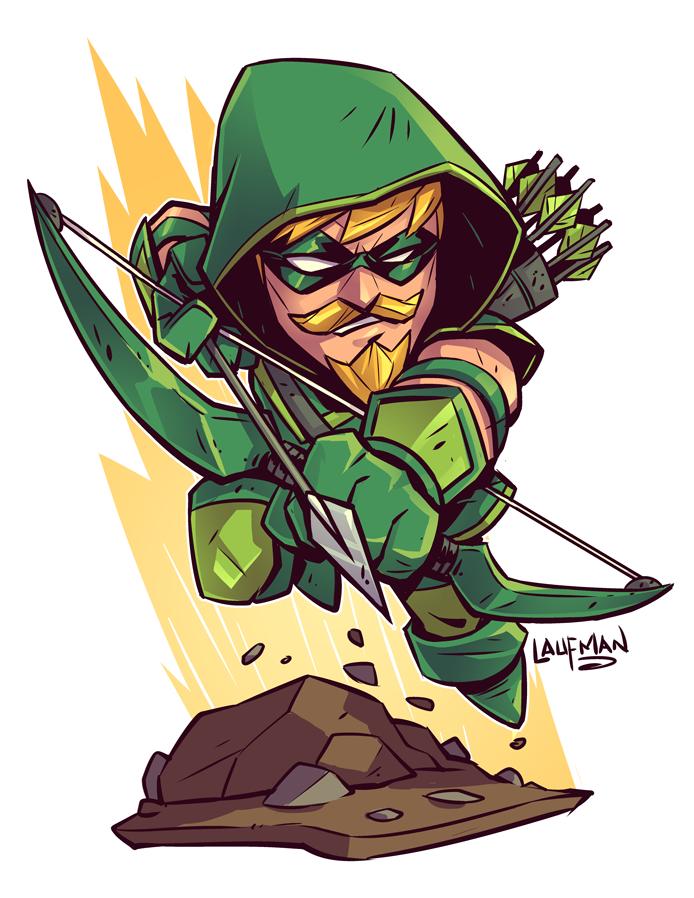How To Draw Chibi Green Arrow