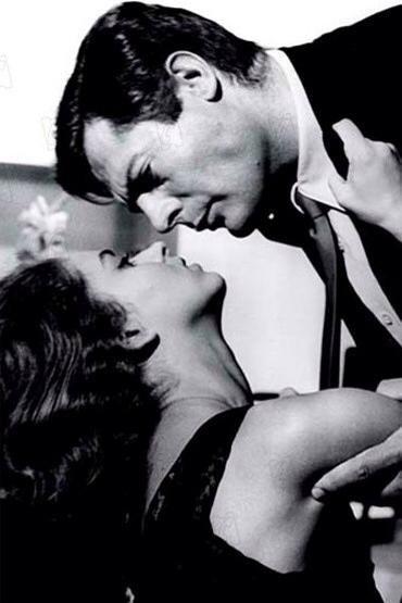 Jeanne Moreau e Marcello Mastroianni