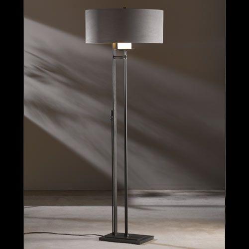 Eclipse Suede Shade Floor Lamp Floor Lamp Table Lamp