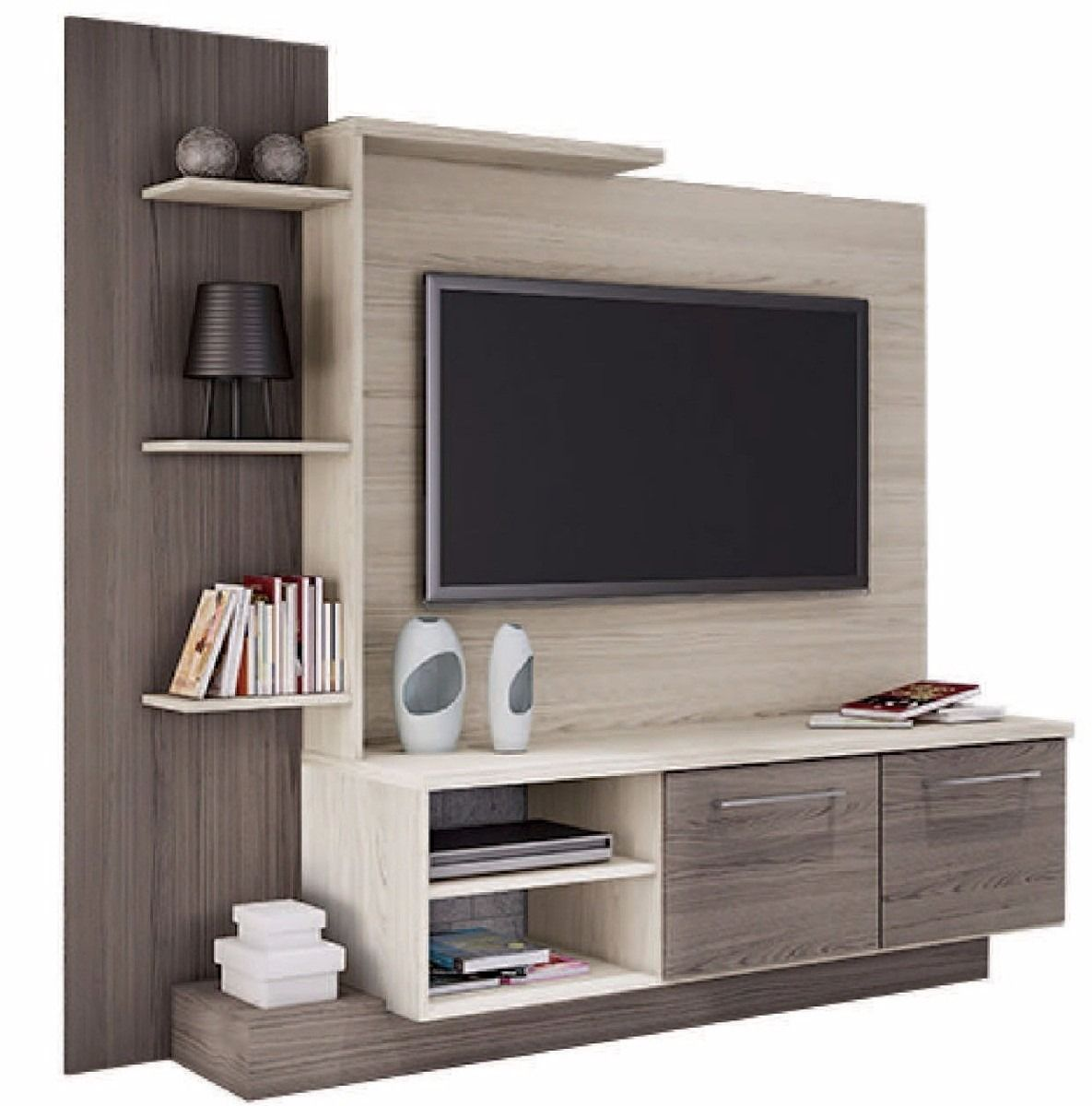 Mesas De Televisor Rack Mesa Tv Led Lcd Mueble De Comedor Modular Home Theater