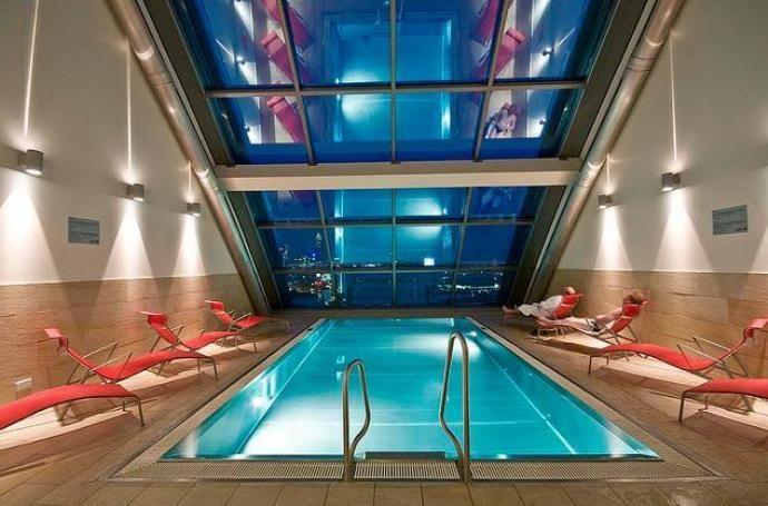 Heaven Spa, Radisson Blu Frankfurt. Exklusiv Wellness in Frankfurt. Das No.1 City SPA.