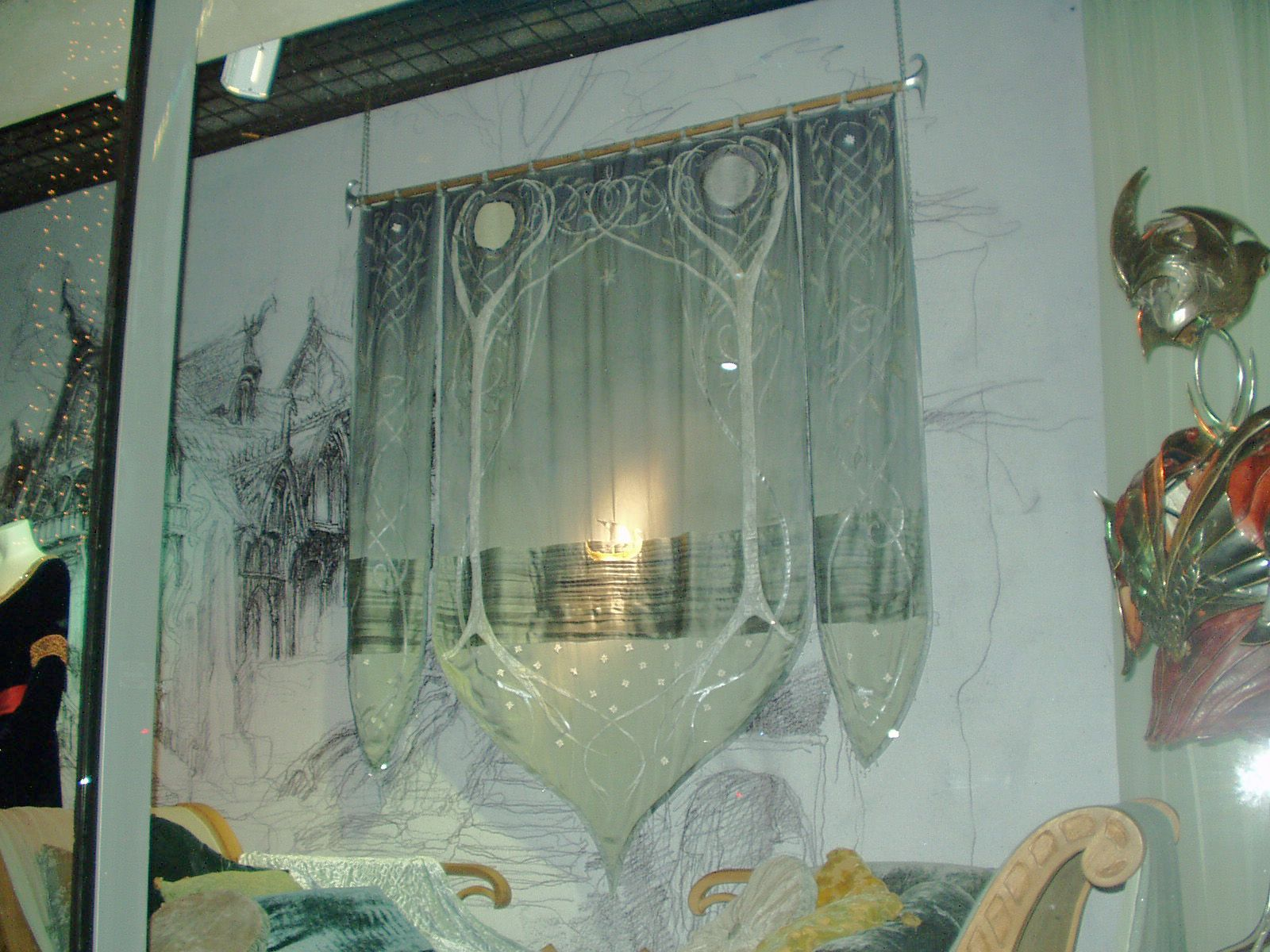 One Of My Favorite Props From Lotr Arwen S Bedroom