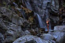 Wasserfall Akt