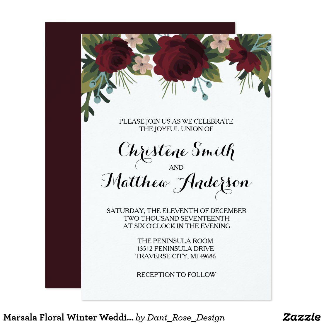 Christmas wedding invitations ireland