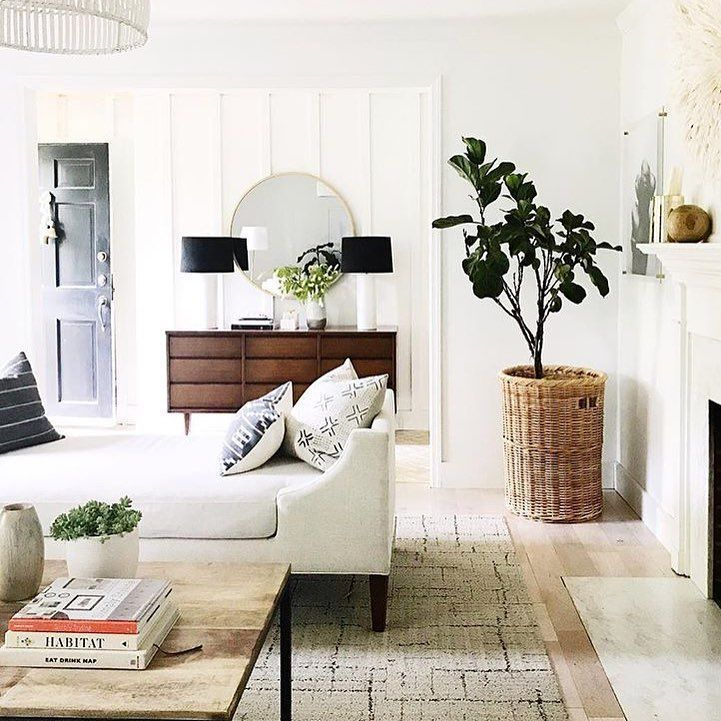Cozy And Bright Living Room: White And Bright Living Room Inspiration