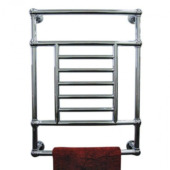 The Isis Wall Mount Bath Towel Warmer By Tuzio Features A Clic Look In Your Choice Of Chrome Brushed Nickel Or Polished