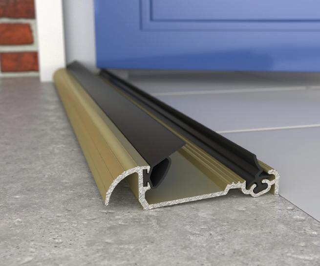 Exitex Macclex 15 2 Inward Open Door Sill Threshold 1219mm Gold External Doors Door Design Doors
