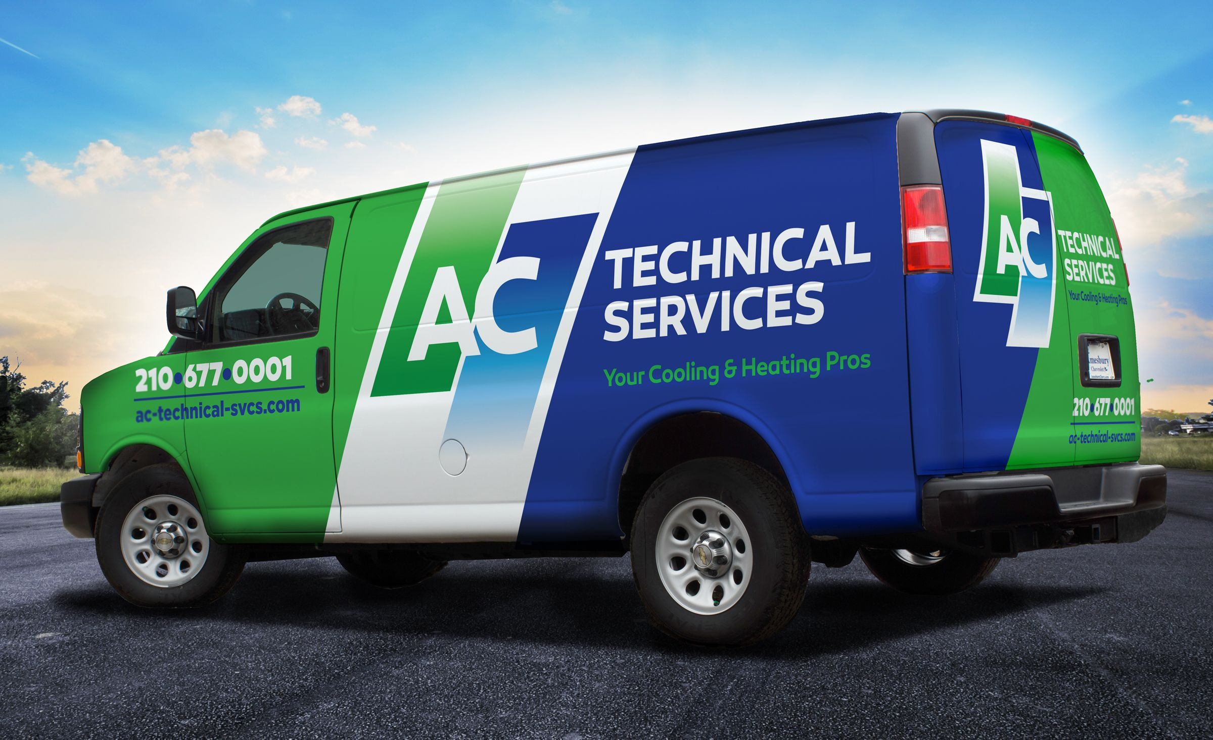Ac Technical Services Kickcharge Creative Vehicle Signage Car