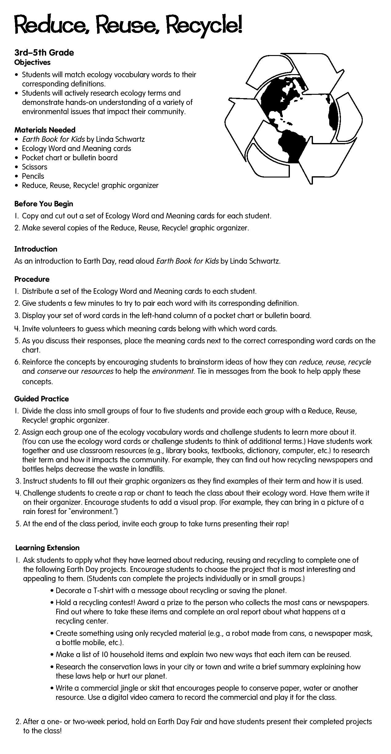 Worksheets Ecology Vocabulary Worksheet in this lesson plan students will master key ecology develop their understanding of important