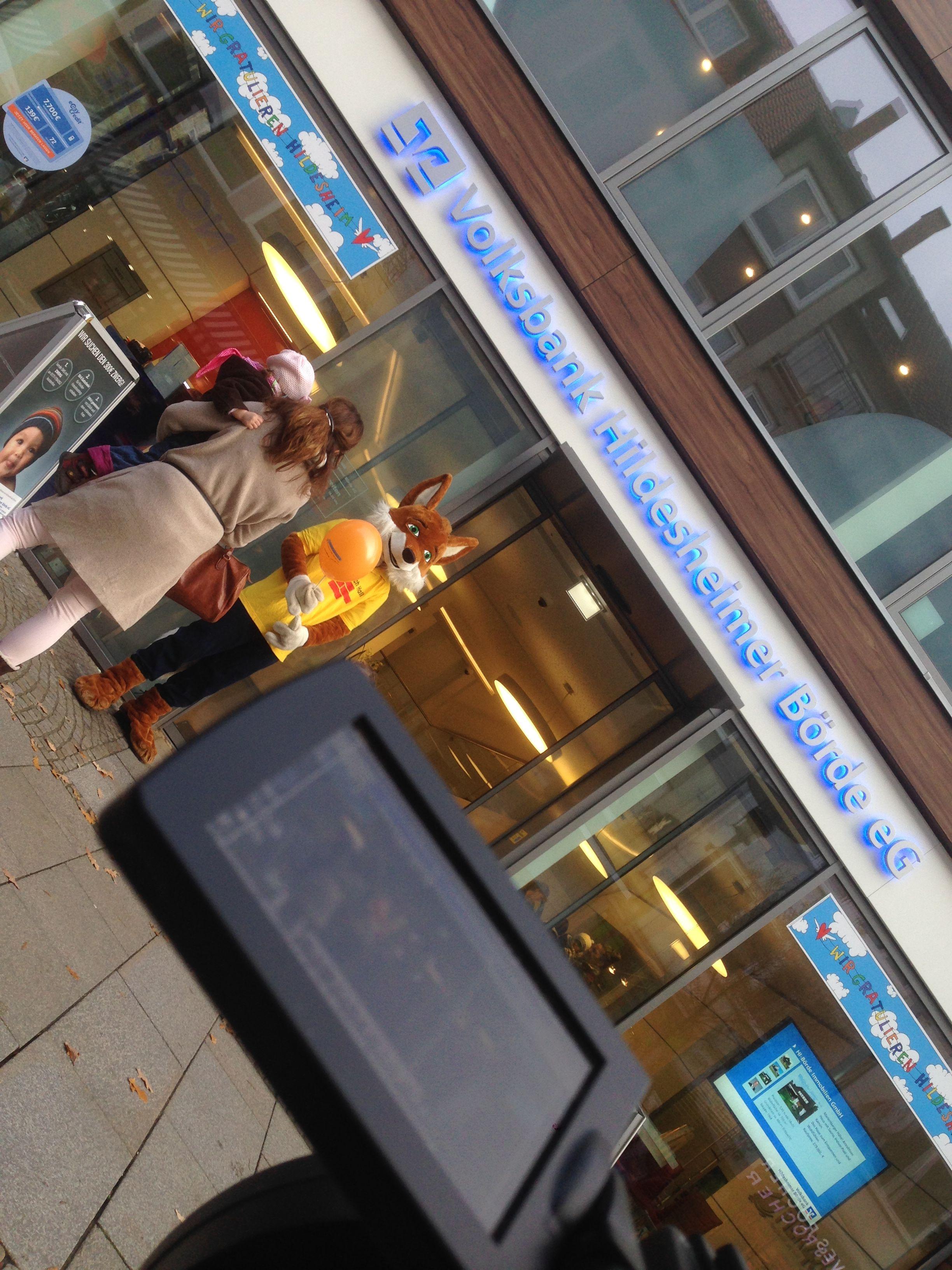 Volksbank Hildesheimer Börde eG läd zum Kinderschminken ein. #vbhb #volksbank #rosenstockmotion