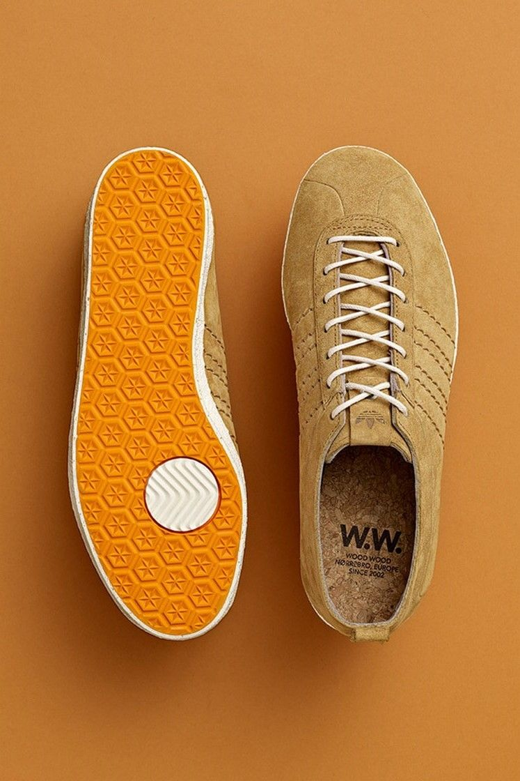 Wood Wood x adidas Originals Gazelle Vintage: Wheat