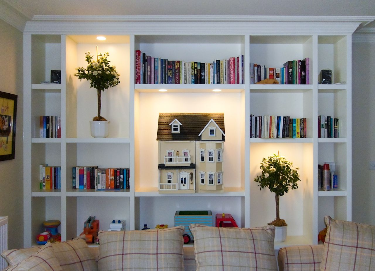 39+ Living room bookshelves ideas information