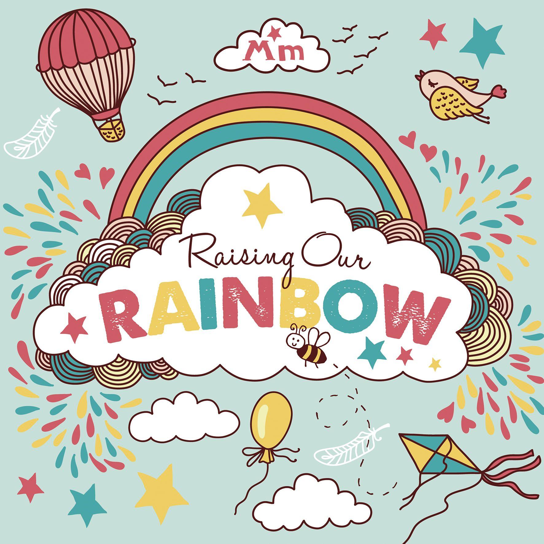 raising rainbow big | Mum to be hamper, Rainbow baby ...