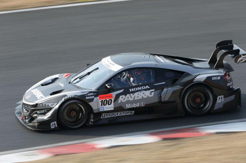 NSX CONCEPT GT JGTC 500 2014 Race Action Shots
