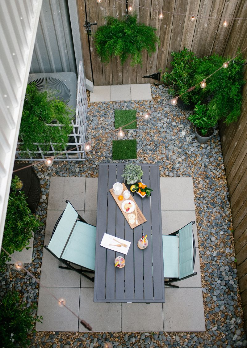 DIY // Before and after of my backyard with Home Depot! | Home ...