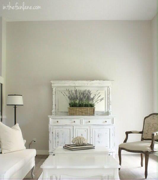 Martha Stewart Whetstone Gray | White room decor, Living ...