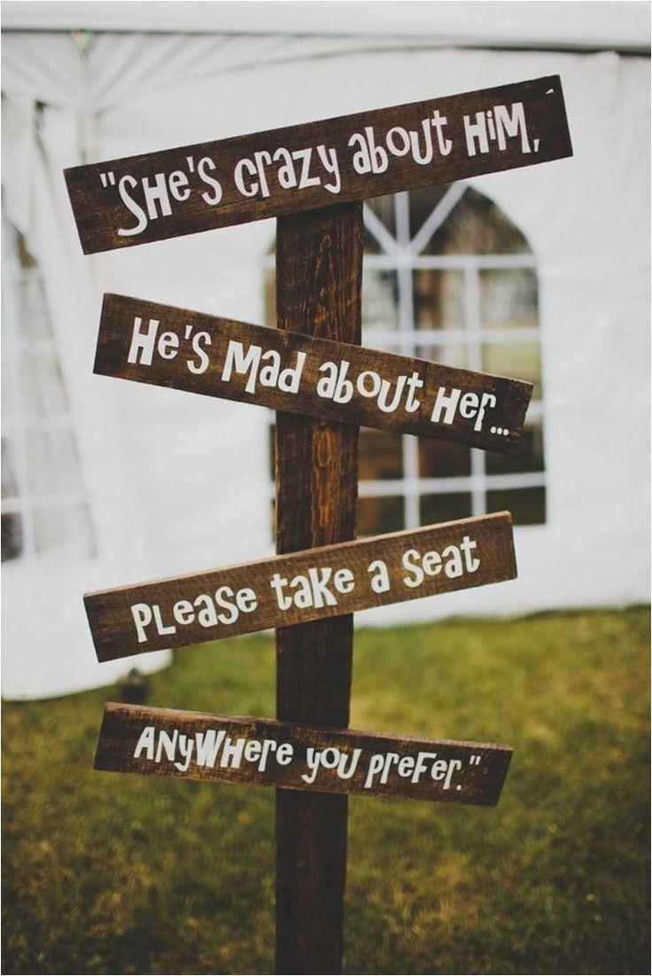 ❤55 rustic wedding signs barn wedding decor you copy for free 29 » agilshome.com #barnweddings