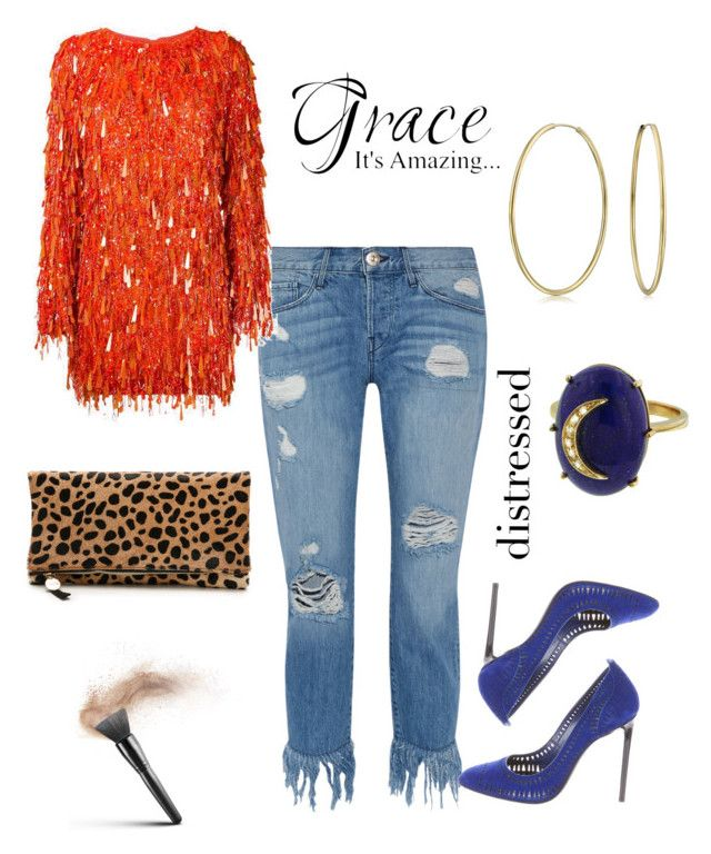 """""""Jazzy and on Trend!"""" by rekenashavon on Polyvore featuring 3x1, Ashish, Bling Jewelry, Andrea Fohrman, Tom Ford and Clare V."""