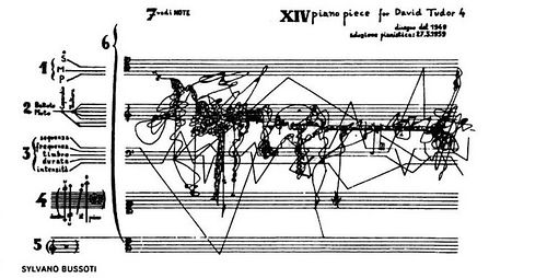 Piano Pieces for David Tudor (1959), Sylvano Bussotti by