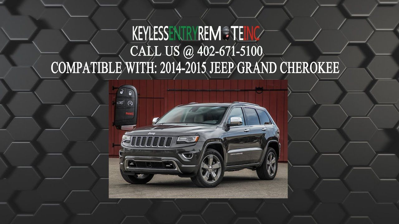 How To Replace Jeep Grand Cherokee Key Fob Battery 2014