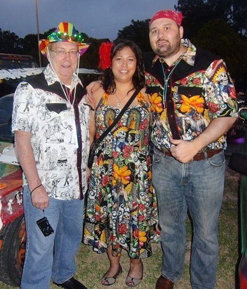 Art Car Ball Patrons Wearing Judy Masliyah S Fabulous Fashions