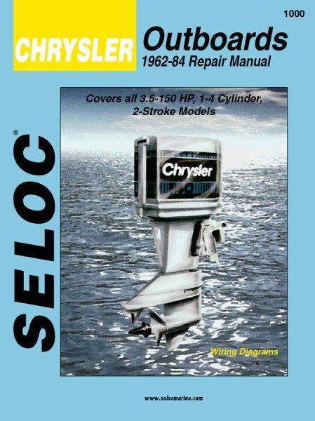 Chrysler Outboard 1962-1984 Service  Repair Manuals Boat Motor