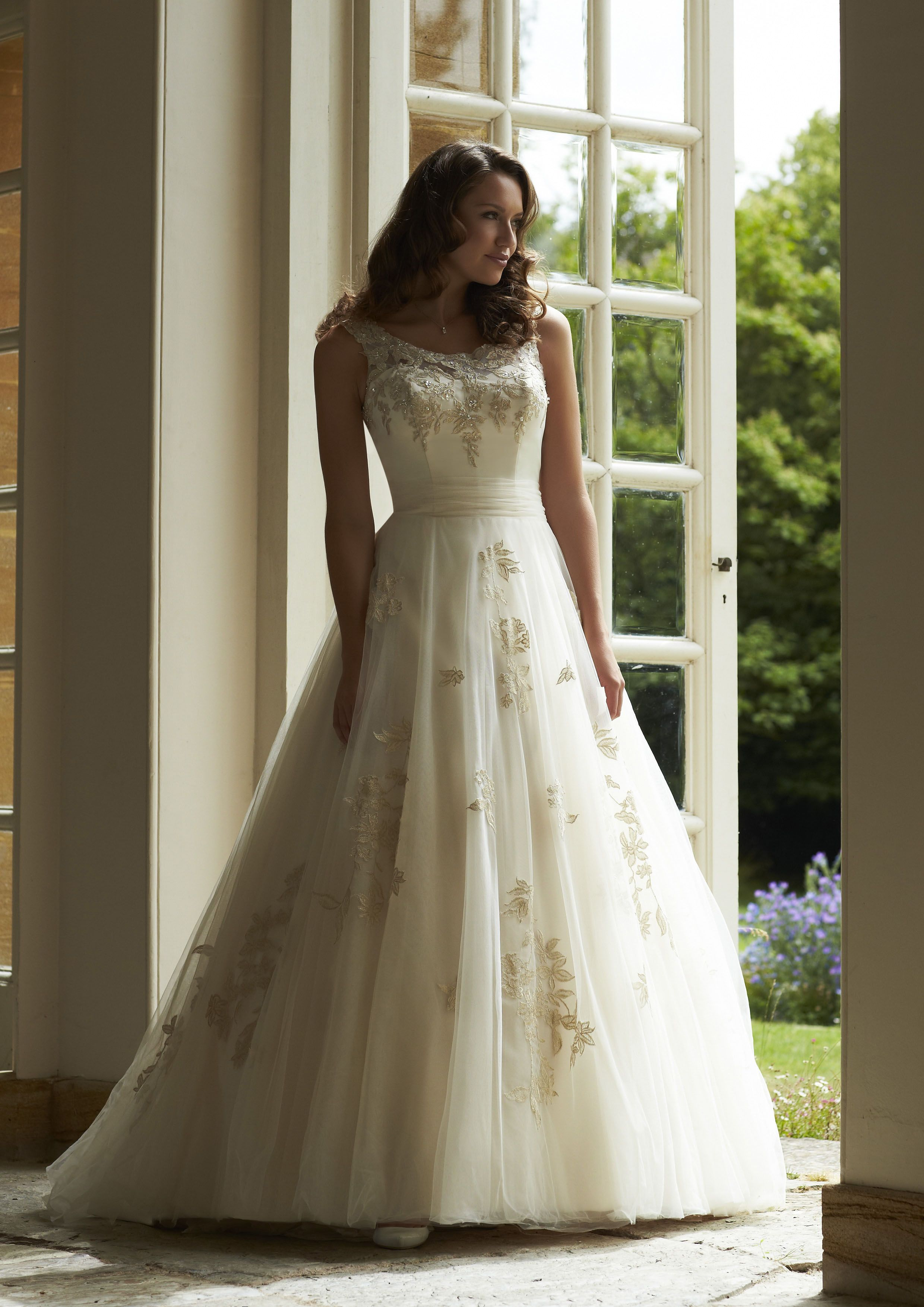 Sapphire ~ Romantica Bridal 2015 ivory, light gold or white, tulle ...