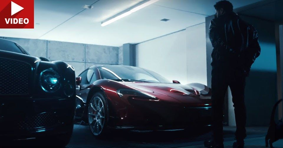 The Weeknd S Mclaren P1 Aventador Sv And Mulsanne Feature In