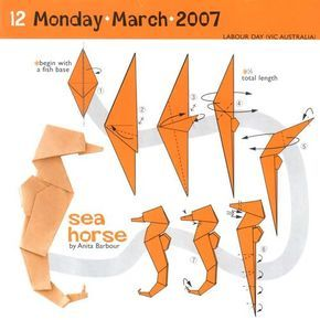 Origami seahorse folding instructions with 7 step diagram crafts origami seahorse folding instructions with 7 step diagram thecheapjerseys Image collections