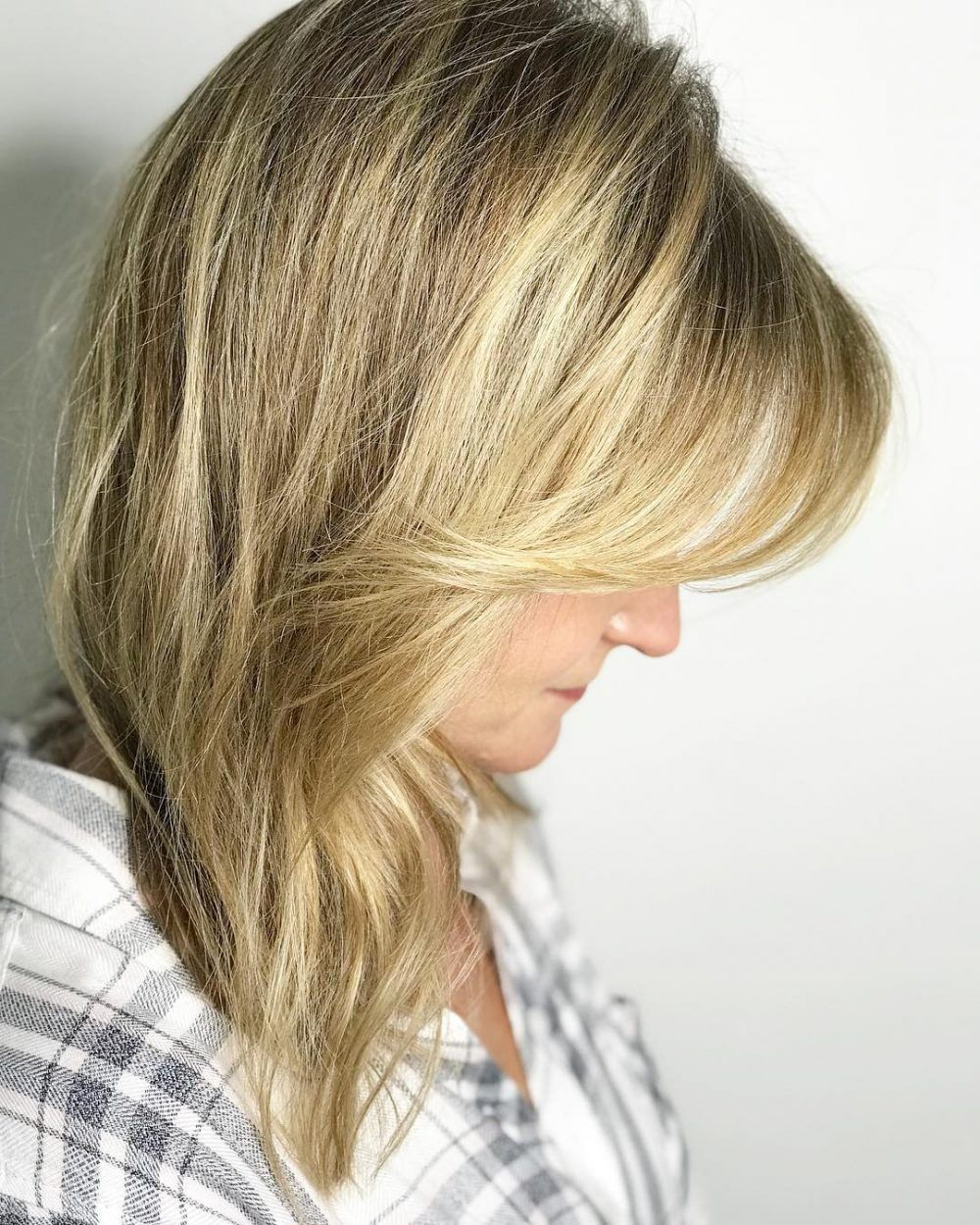 side-swept bangs: 46 ideas that are hot in 2019 | side swept
