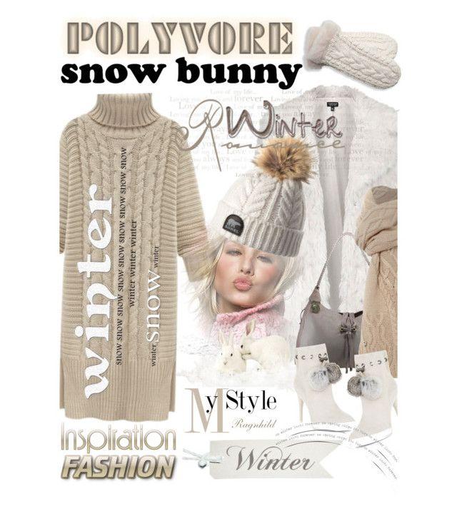 """Winter Fun!"" by ragnh-mjos ❤ liked on Polyvore featuring moda, Topshop, BCBGMAXAZRIA y UGG Australia"